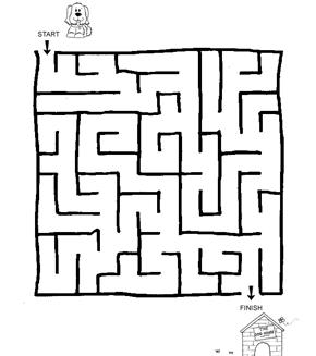 Lost Puppy Maze