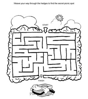 Picnic Maze