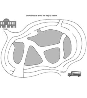 School Bus Maze