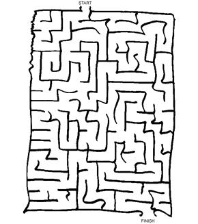 Tricky Maze