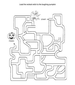 Wicked Witch Maze