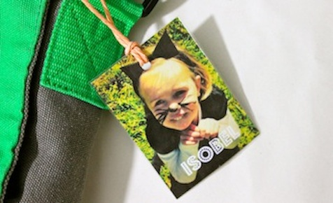 How to make a bag tag