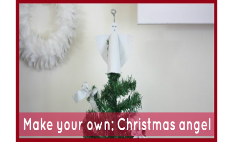 Make your own: Christmas angel