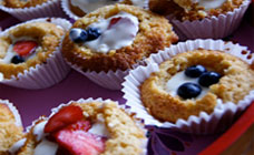 Honey yoghurt cupcakes