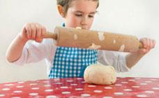 Microwave play dough recipe