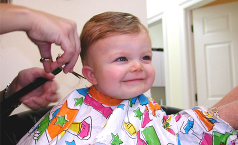 When to give the first haircut