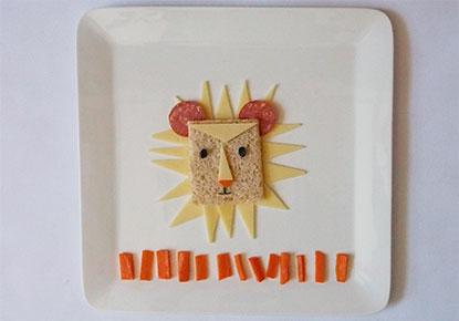 Crunchy Lion Sandwich