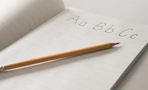 Kids handwriting