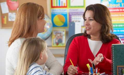 parent teacher interview