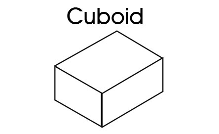 Cuboid - 3D Shapes - Printable