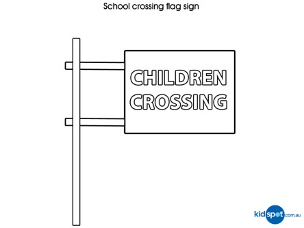 find more traffic signs for kids to colour in - Colouring Pictures For Children