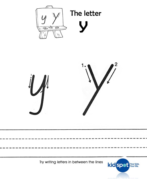 Common Worksheets letter y worksheets : Printable Sheets - Handwriting - Worksheets