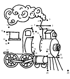 Train Dot To Dot