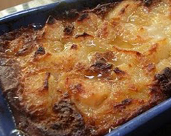 Easy pear cobbler