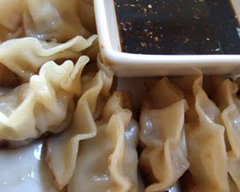 Pork and prawn dumplings
