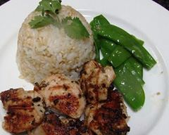 Thai barbecued chicken