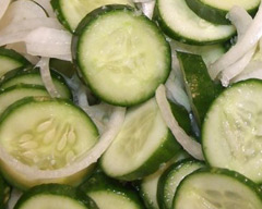 Bread and butter cucumbers