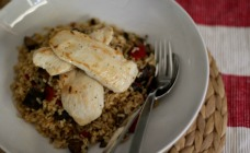 Chicken and antipasto rice