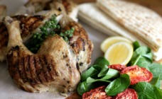 Lemon and marjoram roast chicken