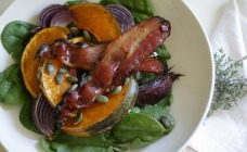 Maple Bacon and Pumpkin Salad