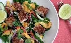 Pork Belly and Mango Salad