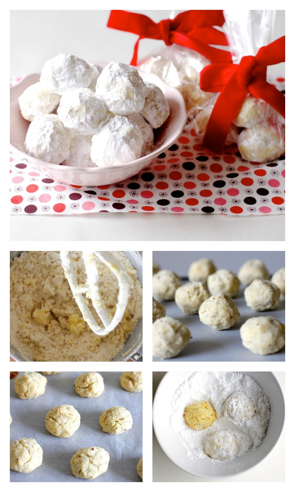 Almond snowballs recipe