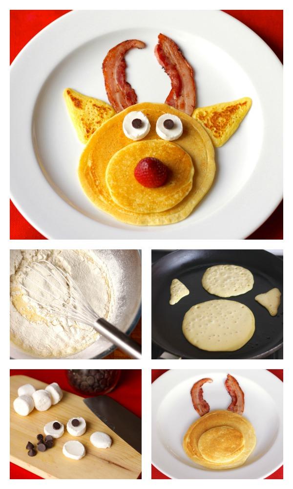 Rudolph pancakes