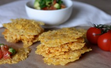 2-ingredient cheese crisps