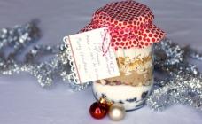 Cookie ingredients jar