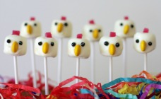 Easter chick pops