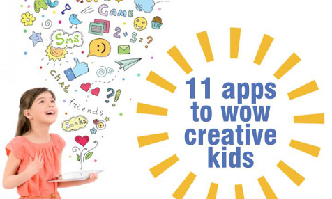 Apps for creative kids