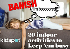 20 indoor activities