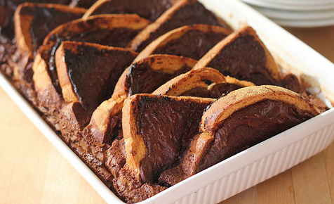Choc-bread-and-butter-pudding
