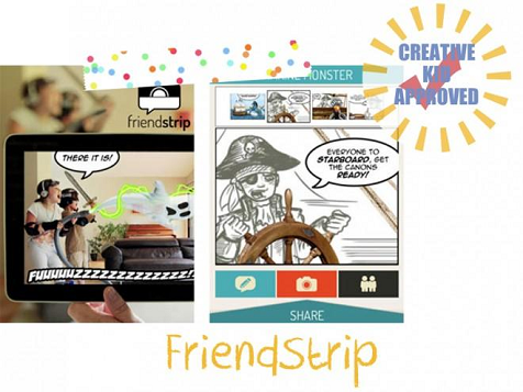 Kid approved app FriendStrip