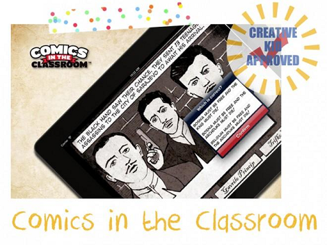 Kid approved app Comics in the Classroom
