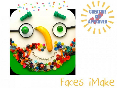 Kid approved app Faces iMake 2