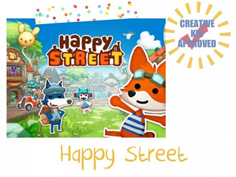 Kid approved app Happy Street