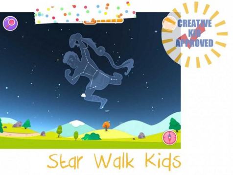 Kid approved app Star Walk Kids