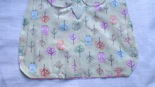 Owl pillow sew
