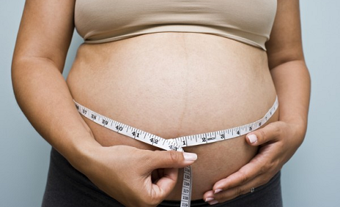Shifting pregnancy weight