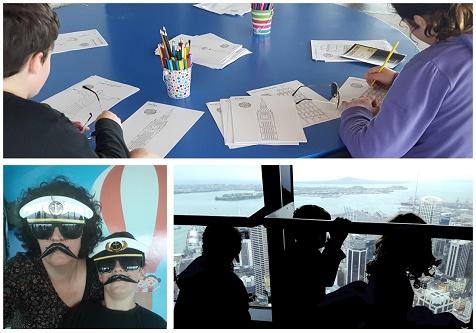 Sky Tower school holidays family activity