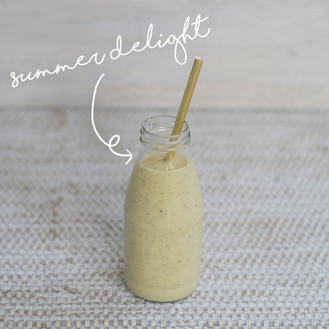 Summer delight Blackmores smoothie