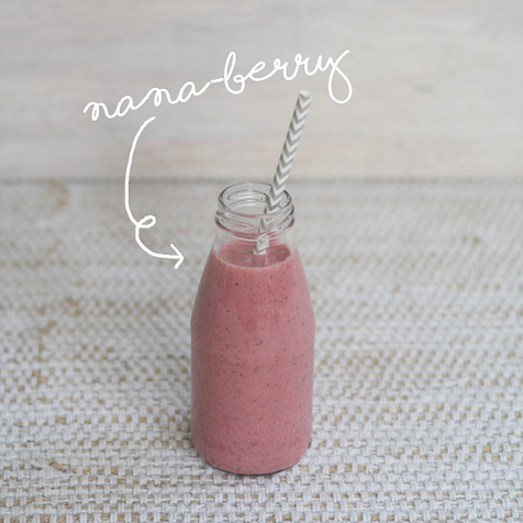 banana berry blackmores smoothie