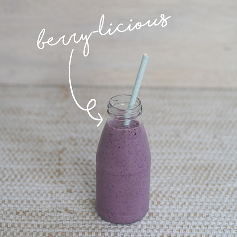 Berry-licious blackmore's smoothie