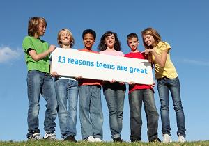 Teenagers aren't that bad!