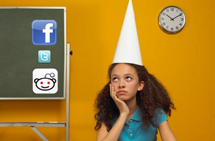 Using social media to discipline your kids