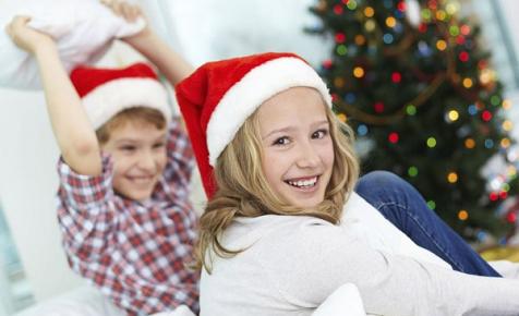 Kids' Christmas chores