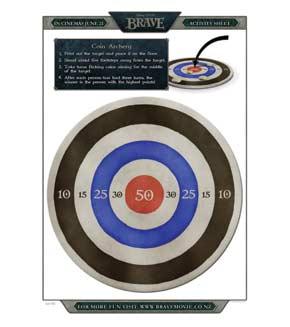 Coin Archery