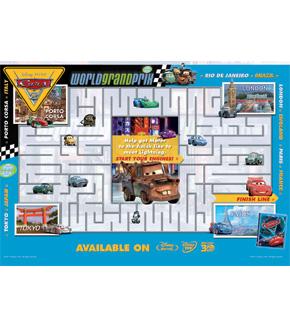 Cars 2 Big Maze
