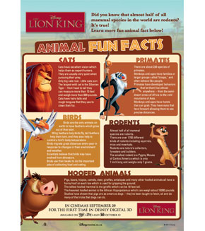 The Lion King - Animal Facts